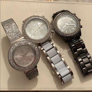 3 beautiful fashion watch bundle !!!